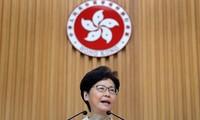Trưởng Đặc khu Hồng Kông Carrie Lam. Ảnh: Reuters