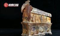 Cổ vật từ một ngôi chùa cổ bị nhóm đạo tặc ăn cắp. Ảnh: Global Times
