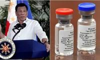 Tổng thống Philippines Rodrigo Duterte. Ảnh: Reuters, Sputnik