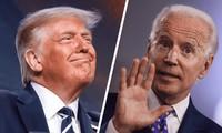 Tổng thống Trump (trái) và đối thủ Joe Biden (phải). Ảnh: IJR