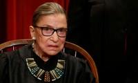 Thẩm phán Ruth Bader Ginsburg. Ảnh: Reuters