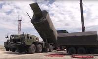 Hệ thống tên lửa Avangard Nga. Ảnh: AP