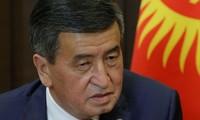 Tổng thống Sooronbay Jeenbekov. Ảnh: Reuters