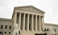 Tòa án Tối cao Mỹ. Ảnh: EPA