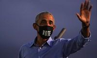 Ông Obama trong sự kiện ngày 21/10. Ảnh: Reuters
