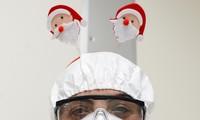Bệnh nhân COVID-19 đón Giáng sinh buồn trong bệnh viện