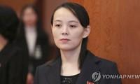 Bà Kim Yo-jong. Ảnh: Yonhap