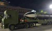 Triều Tiên duyệt binh hậu đại hội đảng, ra mắt tên lửa tàu ngầm mới