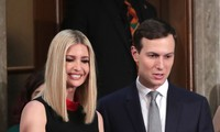 Hai vợ chồng Ivanka - Jared. Ảnh: Reuters
