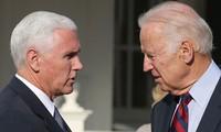 Ông Mike Pence (trái) và ông Joe Biden (phải). Ảnh: Getty