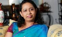 Bà Pavithra Wanniarachchi.