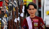 Bà Aung San Suu Kyi. Ảnh: EPA