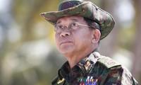 Tướng Min Aung Hlaing. Ảnh: EPA