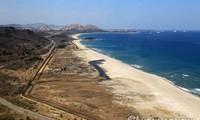 Thị trấn biển Goseong. Ảnh: Yonhap