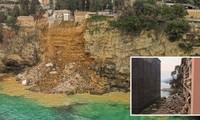 Ý: Nghĩa trang sạt lở, hàng trăm quan tài rơi xuống biển