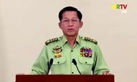 Tổng tư lệnh Quân đội Myanmar - Min Aung Hlaing. Ảnh: Reuters