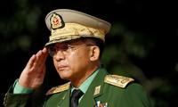 Tướng Min Aung Hlaing - người đang nắm quyền điều hành Myanmar sau cuộc đảo chính. Ảnh: Reuters