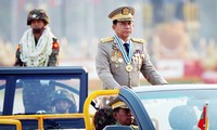 Tổng tư lệnh quân đội Myanmar – Min Aung Hlaing. Ảnh: Reuters