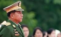 Ông Min Aung Hlaing. Ảnh: EPA