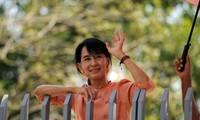 Bà Aung San Suu Kyi. Ảnh: PRI