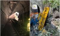 Hiện trường vụ tàu hỏa đâm vào đường hầm ở Đài Loan, hé lộ nguyên nhân hi hữu