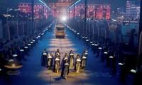 22 xác ướp pharaoh 'diễu hành' trong đêm qua thủ đô Ai Cập
