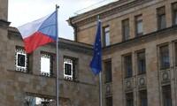 Đại sứ quán Séc tại Moscow. Ảnh: Reuters