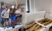 Nhóm vận động viên Israel xoá tan tin đồn 'giường Olympic chống gần gũi ngừa COVID-19'