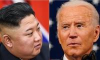 Chủ tịch Triều Tiên Kim Jong-un và Tổng thống Mỹ Joe Biden. Ảnh: Business Insider