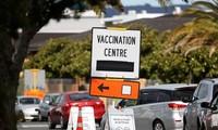 Một điểm tiêm chủng ở New Zealand. Ảnh: Reuters