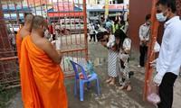 Các hoạt động mừng lễ Kan Ben và Pchum Ben ở Campuchia đã bị huỷ bỏ. Ảnh: Khmer Times