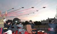 Tận thấy tên lửa tối tân, chiến đấu cơ của Triều Tiên khoe uy lực