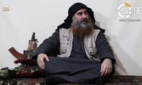Bakr al-Baghdadi trong một video năm 2019. Nguồn: CNN.