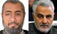 Ông Abdul Reza Shahla'i (trái) và ông Qassem Soleimani. Nguồn: AP.