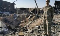 Trung tá Mỹ Staci Colemsan nói rằng, thật thần kỳ khi không có thương vong tại Al-Asad. Ảnh: CNN.