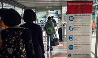 Sân bay Suvarnabumi ở Bangkok, Thái Lan quét thân nhiệt hành khách đến từ Vũ Hán, Trung Quốc (ảnh chụp ngày 8/1). Ảnh: Getty Images.