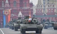 Tập luyện duyệt binh ở Mátxcơva. Ảnh: Pravda.