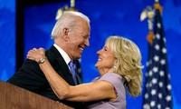 Tổng thống đắc cử Joe Biden và phu nhân Jill Biden. Ảnh: AP.