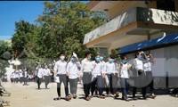 Quảng Ngãi cho học sinh nghỉ học từ 12 giờ ngày 6/5.