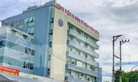 Phong tỏa Bệnh viện Đa khoa tư nhân Phúc Hưng (TP Quảng Ngãi, tỉnh Quảng Ngãi), sau khi nhận ca mắc COVID-19 là một nhân viên y tế trong bệnh viện.