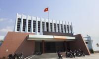 Trung tâm Văn hóa – Thông tin – Thể thao huyện Tuy Phước nơi ông Khanh công tác. Ảnh: Trương Định