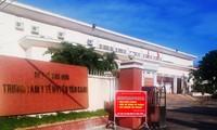 Trung tâm Y tế huyện Vân Canh nơi xảy ra sự việc.