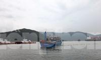 Tỉnh Bình Định ban hành lệnh cấm biển bắt đầu từ 12h ngày 9/11 để phòng chống bão số 12. Ảnh: Trương Định