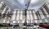 Chung cư nhà thu nhập thấp (NƠXH) - Cao ốc Long Thịnh. Ảnh: Trương Định