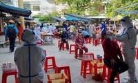 Đà Nẵng: Một chợ bị phong tỏa vì liên quan đến BN 2989, 400 người được lấy mẫu xét nghiệm