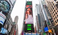 """""""Nữ hoàng Rap Việt"""" Suboi lần thứ hai xuất hiện tại Quảng trường Thời đại New York"""