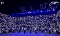 """Đưa Choi Siwon khổng lồ lên sân khấu, concert online của SUPER JUNIOR phá kỷ lục """"bắn tim"""""""