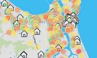 Nhìn Bản đồ COVID-19 thành phố chi chít dấu cảnh báo, người dân Đà Nẵng không khỏi xót xa