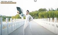 Hoa hậu Trung Quốc gây tranh cãi khi mặc áo dài Việt Nam thi tài năng tại Miss Earth 2020