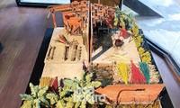 """Các làng nghề truyền thống bỗng thu bé lại tại triển lãm """"Đà Nẵng tui - Nghệ Exhibition"""""""